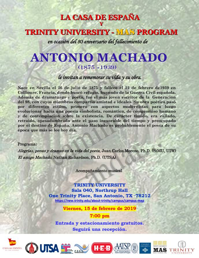 Conferencia Sobre Antonio Machado